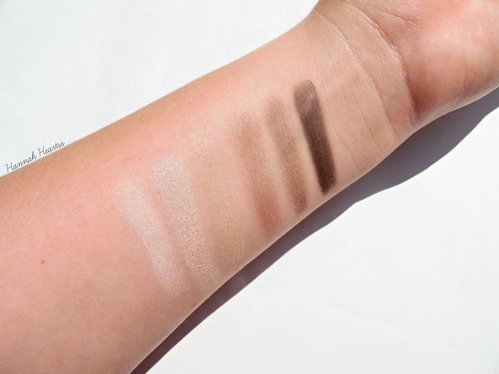 Collection Eyes Uncovered Nude Palette Swatches