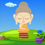 Games4King Cute Buddha Statue Escape Walkthrough