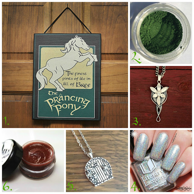 Handmade Lord of the Rings-Inspired Goods
