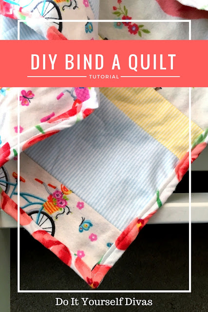 diy bind a quilt fast and easy