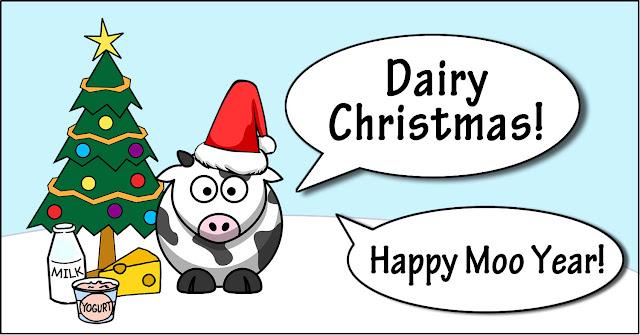 #DairyChristmas #HappyMooYear