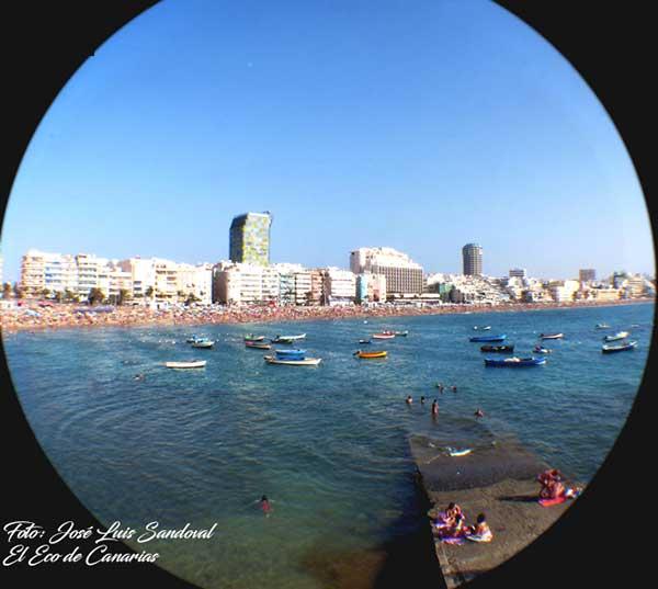 Las Palmas de Gran Canaria  entre los tres destinos favoritos para los viajeros  en invierno