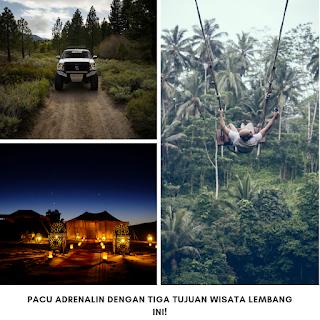 Pacu Adrenalin dengan Tiga Tujuan Wisata Lembang Ini!