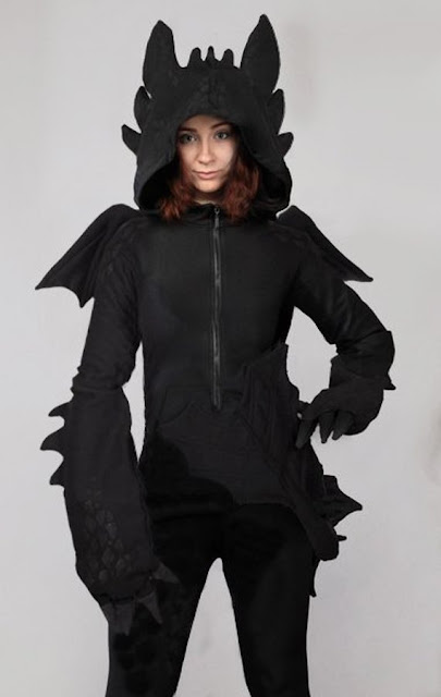 Dragon Toothless Inspired Hoodie
