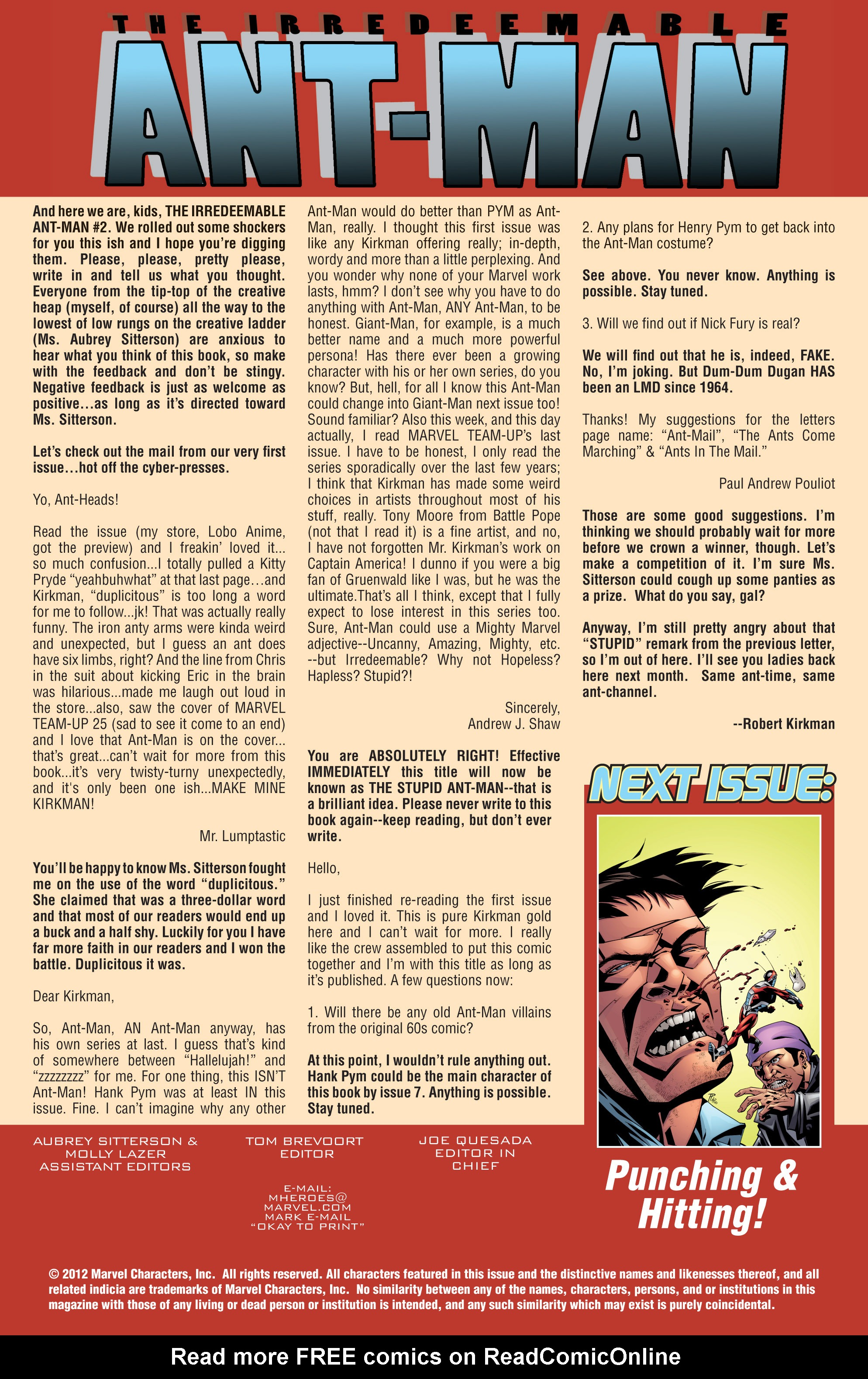 The Irredeemable Ant-Man Issue #2 #2 - English 22