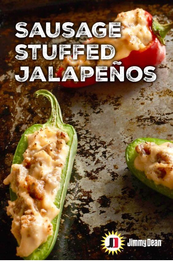 Sausage Stuffed Jalapenos