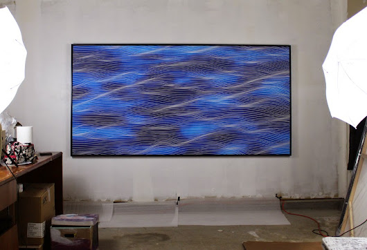 MOMO abstract art - abstract art for everyone: 8 feet painting is here