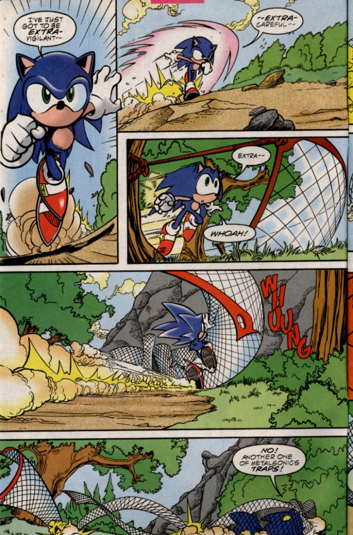 Read online Sonic The Hedgehog comic -  Issue #87 - 4