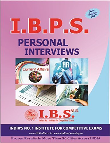 IBPS Personal Interview book