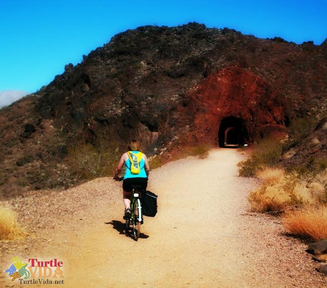 Biking the Historic Railroad Hiking Trail