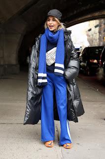 Caroline Daur Out At New York Fashion Week 2018