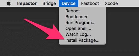 """استخدم خيار """"تثبيت الحزمة - Install Package"""""""