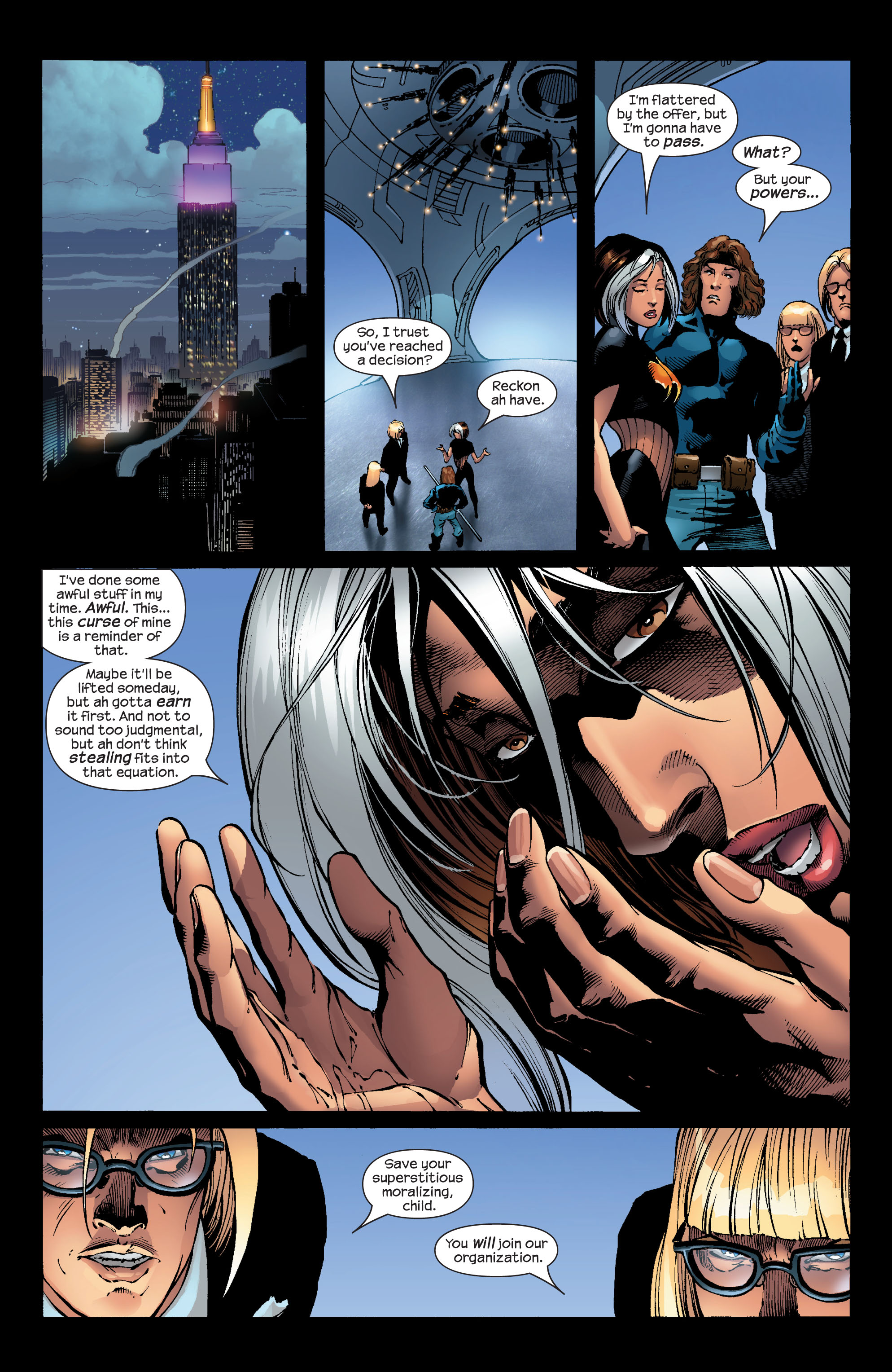 Read online Ultimate X-Men comic -  Issue #52 - 16