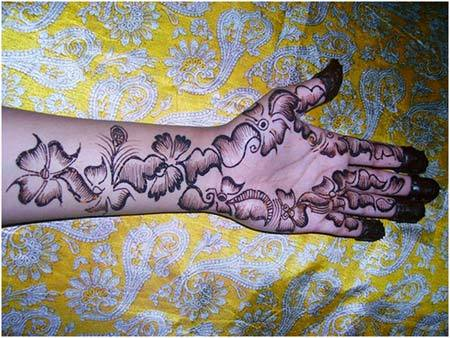 Mehndi For Thin Hands : Latest shaded mehndi designs for all occasion with