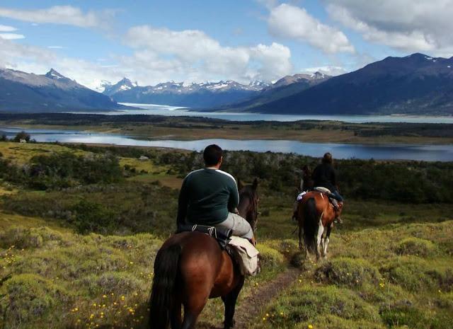 Passeio a cavalo em El Calafate