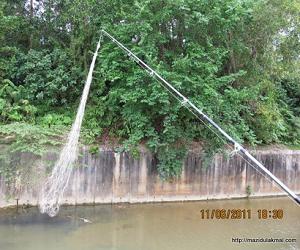 Trik Memancing Ikan Jaring