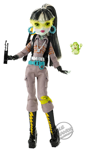 san diego comic-con 2016 mattel exclusive MONSTER HIGH GHOSTBUSTERS FRANKIE STEIN DOLL