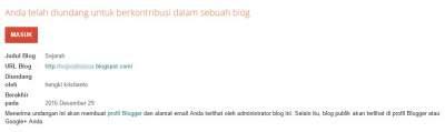 Login ~ Cara Mengganti Admin Blogspot Menjadi Pemilik Blog (Admin) Baru