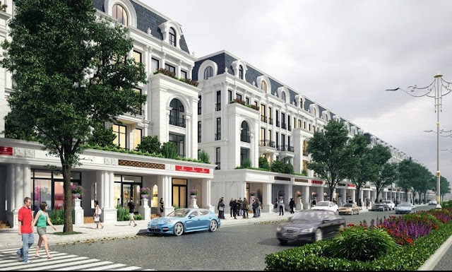 Liền kề shophouse dự án Louis City