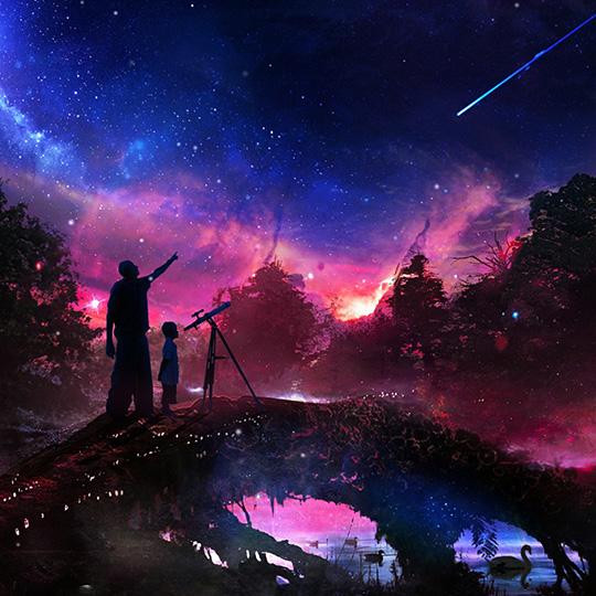 Shooting Stars Wallpaper Engine