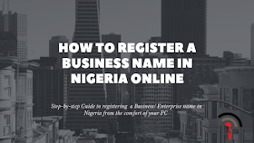 How to Register a Business Name in Nigeria Online