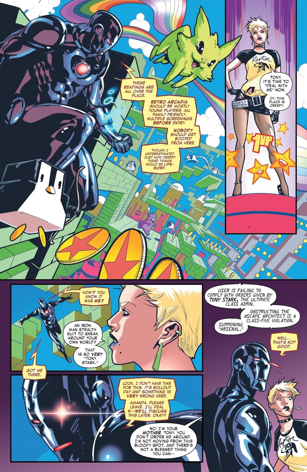 Read online Tony Stark: Iron Man comic -  Issue #6 - 17