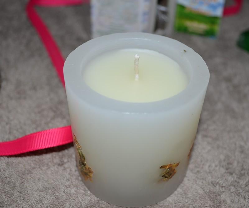 bougies parfumées aux huiles essentielles