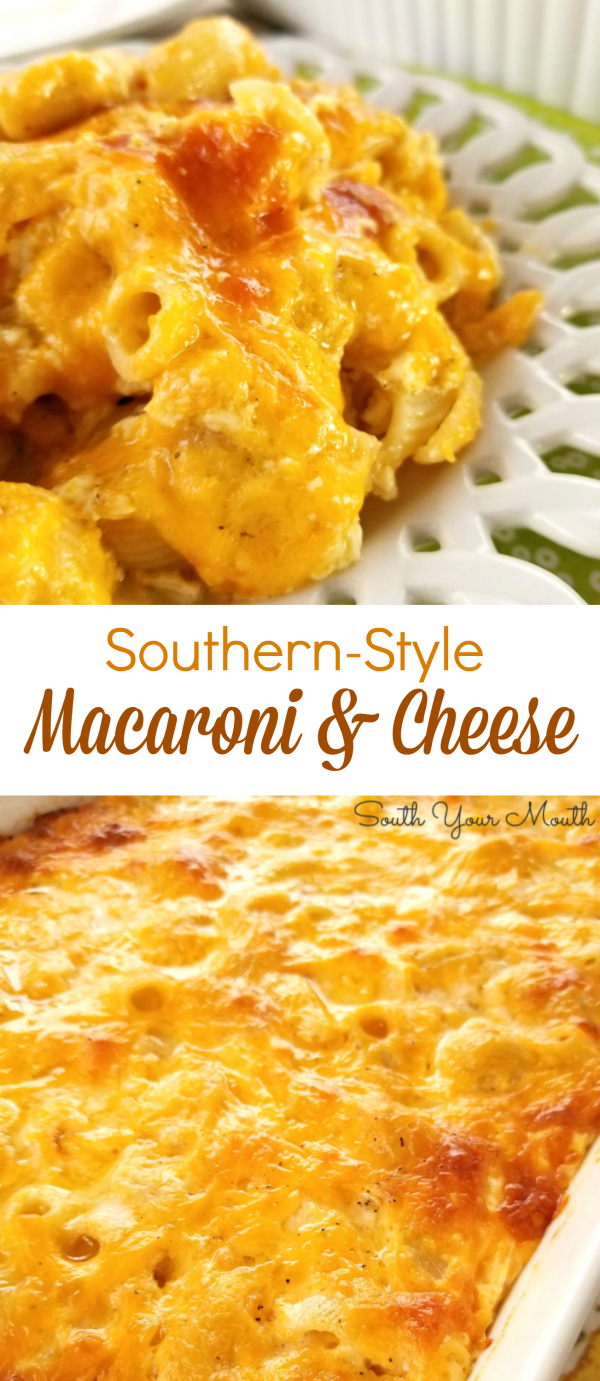 South Your Mouth Southern Style Macaroni Amp Cheese