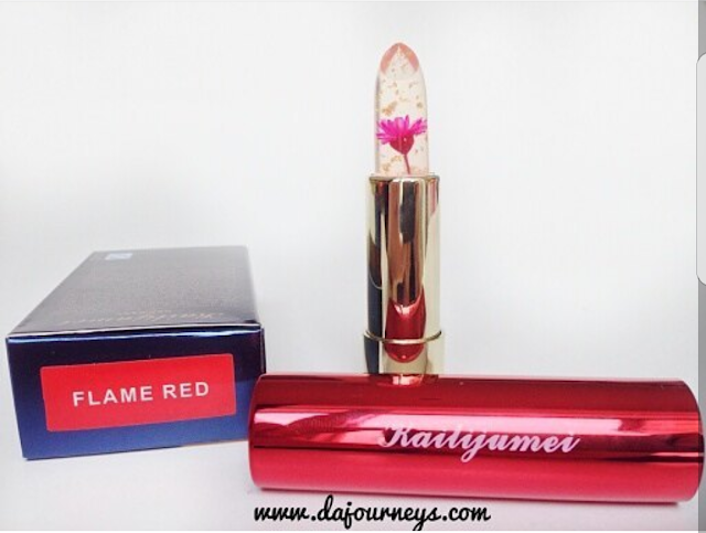 Review Jelly Flower Lipstick by Kailijumei
