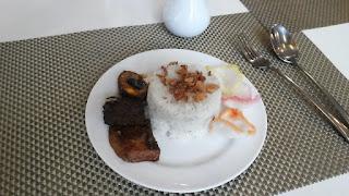 Nasi Uduk Jakarta ala Kyriad Airport Hotel Jakarta
