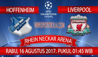Prediksi Hoffenheim vs Liverpool 16 Agustus 2017