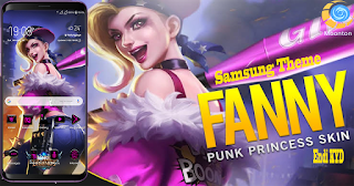 Download Tema Fanny Mobile Legend untuk Samsung Galaxy gratis