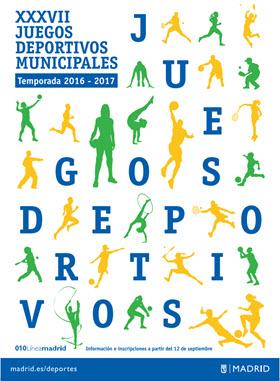 Juegos Deportivos Municipales 2016/2017 con 32.454 equipos y 37.000 deportistas
