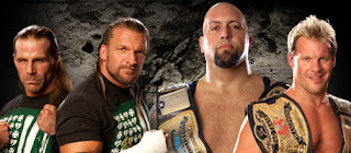 WWE - TLC 2009: DX (Triple H & Shawn Michaels) vs. Jericho (Chris Jericho and Big Show)