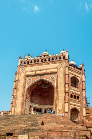 The Flight of stairs and Buland Darwaza