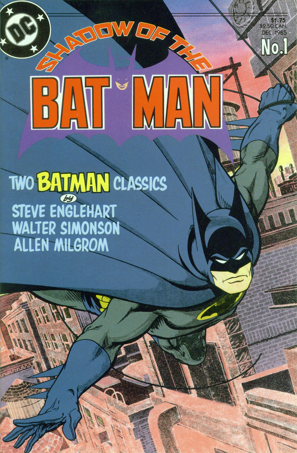 Read online Shadow of the Batman comic -  Issue #1 - 1