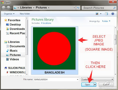 Create Folder Icon From JPEG Image Online