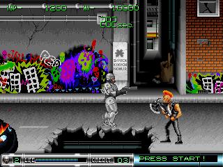 Game Dingdong Robocop