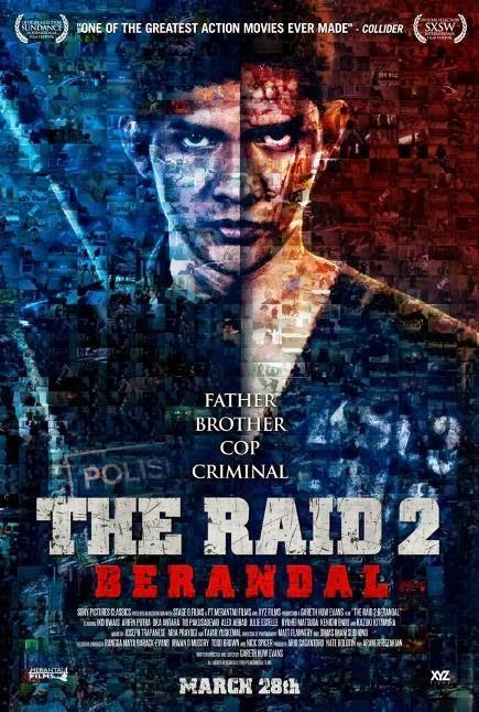 """The Raid 2: Berandal (2014)"" movie review by Glen Tripollo"