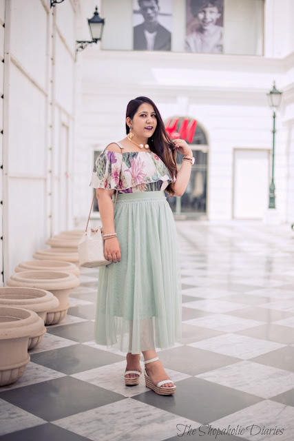 OOTD : Of Pastels, Tulle and Twirls - Curvy Style Guide