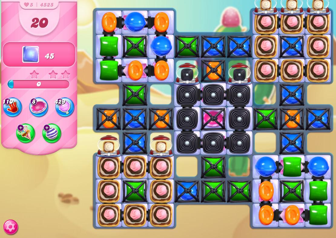 Candy Crush Saga level 4525