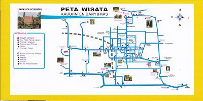 Peta Wisata Purwokerto Banyumas