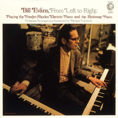 Jazz solo    o con leche: BILL EVANS / FROM LEFT TO RIGHT   1970