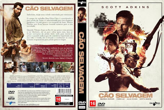 Capa DVD Cão Selvagem [Custom]