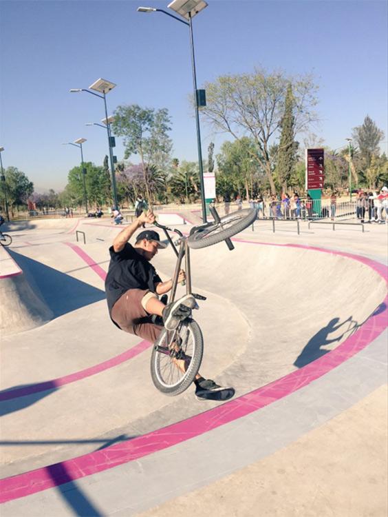 como llegar al skatepark de bosque de aragon