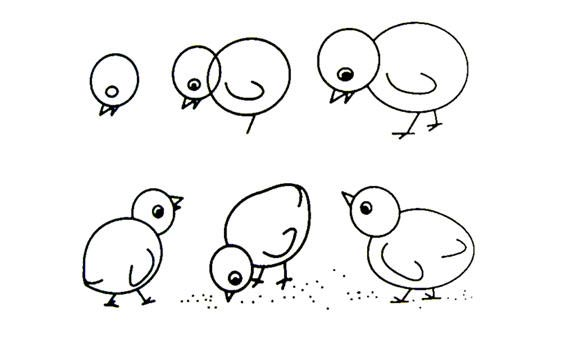 Cara Melukis Anak Ayam