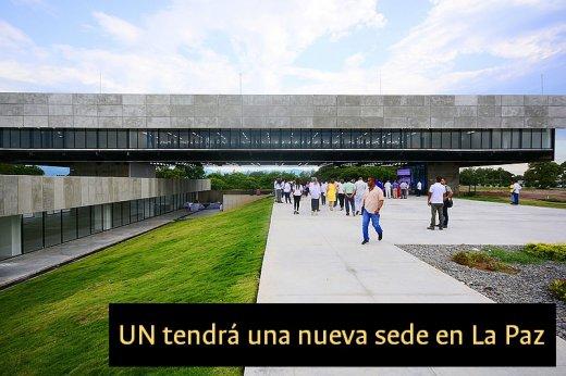 Nueva Sede de la Universidad Nacional en La Paz Cesar - Sede Caribe