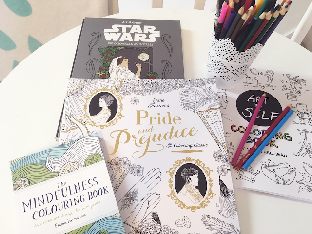 Magic & Musings colouring book collection