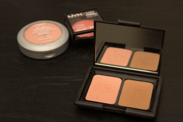 Review of e.l.f contouring blush and bronzing powder