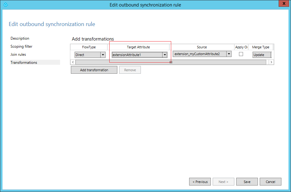 TrustSharePoint: Synchronizing Custom AD Attributes to